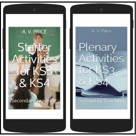 Two books to help you speed up lesson planning – for all subjects, on your phone!